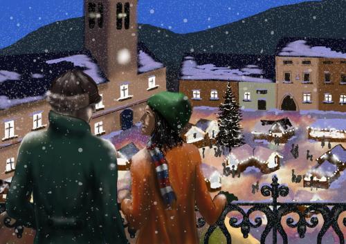 Vánoční trhy v Krampeřicích